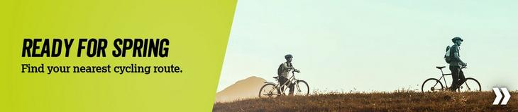 Get ready for Spring - Cycle route finder